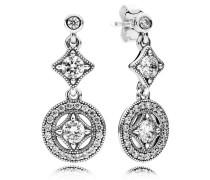 Damen Ohrhänger Vintage Zauber Silber Cubic Zirconia onesize 290722CZ
