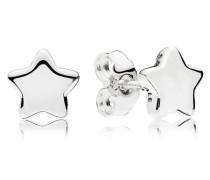 Damenohrstecker Stern Silber onesize 296374