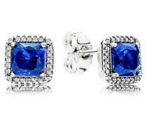 Damenohrstecker Zeitlose Eleganz Blau Silber onesize 290591NBT