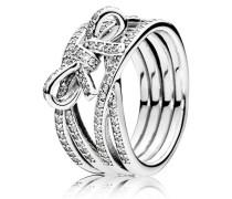 Damen Ring Zarte Gefühle Silber 48 190995CZ-48