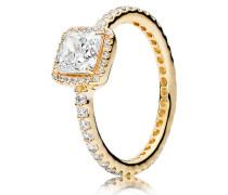 Damenring Zeitlose Eleganz Gold 48 150188CZ-48