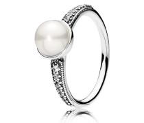 Kombinierbarer Ring Zeitlose Schönheit Weiß 191018P-48