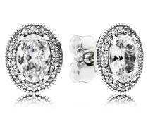 Damenohrstecker Vintage Eleganz Silber onesize 296247CZ
