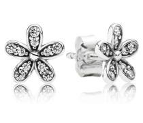 Ohrstecker  Glanzvolles Gänseblümchen  Silber Cubic Zirconia 290570CZ