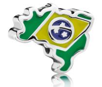 Damen Charm Brasilien Grün Silber onesize 791303ENMX