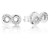 Ohrstecker  Unendlichkeit  Silber Cubic Zirconia 290695CZ