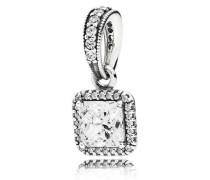 Zeitlose Eleganz Kettenanhänger Silber Cubic Zirconia 390378CZ