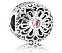 Charm  Liebe & Freundschaft  Silber Pink 791955PCZ