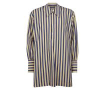 Night Shirt Blue/Yellow Stripes