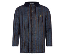 Selvedge Knit Navy Stripes