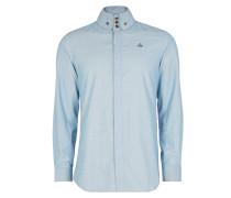 Firm Krall Shirt Light Blue Melange
