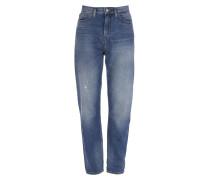 Anglomania Skytte Jeans Med Wash Blue Denim