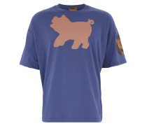 Moser T-Shirt Purple Blue