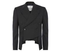 Frock Coat Grey Pinstripe
