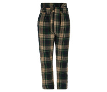 Anglomania New Kung Fu Trousers Dark in Black/Beige/Green