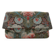 Anglomania Large Jungle Clutch Bag 190059 Grey