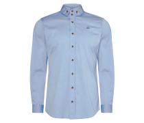 Light Blue Two Button Krall Shirt