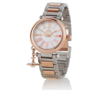 Silver/Gold Mother Orb Watch