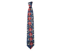 Gaia Tie Blue/Red One