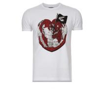 Anglomania Organic Heart World T-Shirt White XS