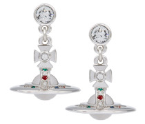 Anglomania New Petite Orb Earrings Clear