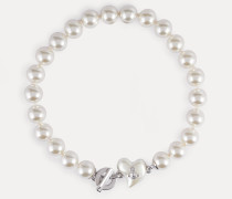 Lynette Large Necklace Silver-Tone