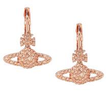 Grace Bas Relief Earrings Light Peach