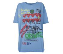 Anglomania Organic Baggy T-Shirt Baby Blue