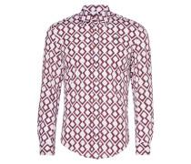 Pink Diamonds Stretch Shirt
