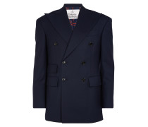 Double Breasted Jacket Navy