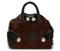 Small Flintstone Hangbag 42010020 Black/Brown