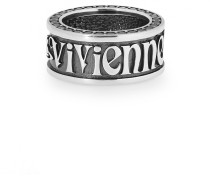 Spitalfields Ring Oxidised Silver