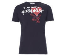 Vivienne Westwood I am not a Terrorist Navy T-Shirt