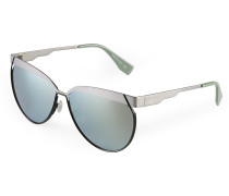 Matt Titanium Frame Sunglasses in Grey VW958S3MTG