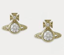 London Orb Earrings Gold-Tone