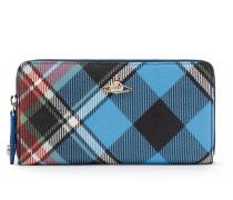 Derby Zip Round Wallet - George-Blue/Black/Red