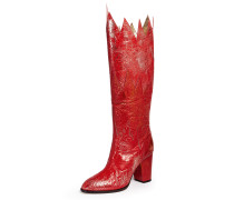 Hell Fire Boots Red Tin Foil