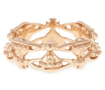 Sterling Silver Notting Hill Ring Pink Gold