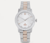 Warwick Watch Silver/Rose
