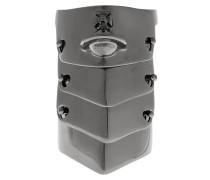 & Anglomania Armour Ring Gunmetal