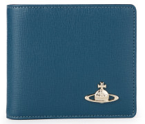 Saffiano Wallet With Coin Pocket 51010009 Blue