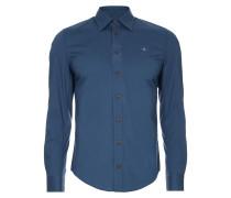 Classic Stretch Shirt Morocco Blue