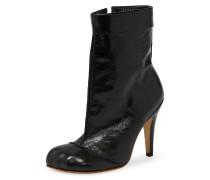 Black Animal Cuff Boots