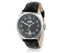 Hampstead Watch Black/Silver