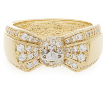 Sterling Silver Pamela Small Ring Gold