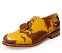 Vivienne Westwood Men's Grenson Rust Absence Of Roses Derby Shoes