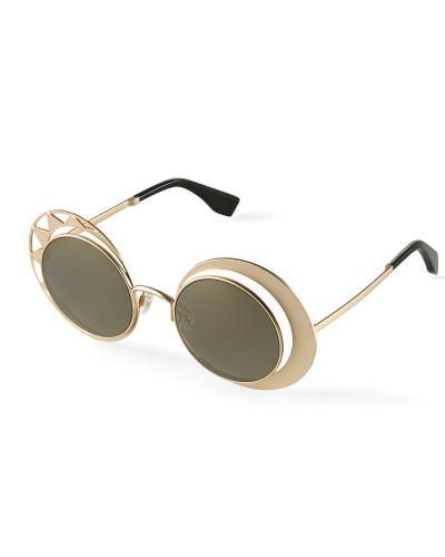 Sun and Moon Sunglasses Gold VW9641SLV