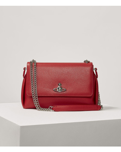 Windsor Crossbody Bag Red