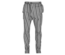 Alcoholic Trousers Light Stripes- Grey