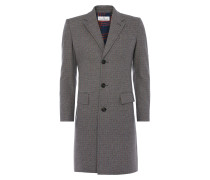 City Coat Grey Check